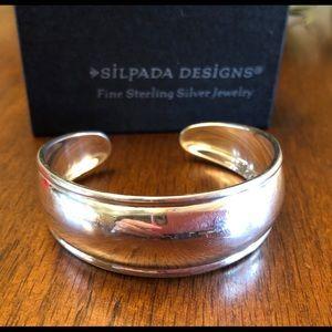Silpada Sterling Silver Cuff Bracelet B1407 *MINT!